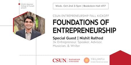 CSUN Entrepreneurship Fall Kickoff tickets