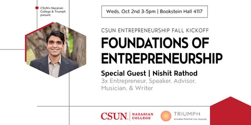 CSUN Entrepreneurship Fall Kickoff