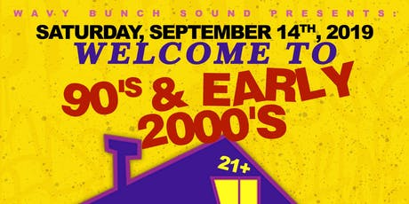 Welcome to The 90's & Early 2000's Party tickets