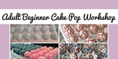 Adult Beginner Cake Pop Workshop tickets