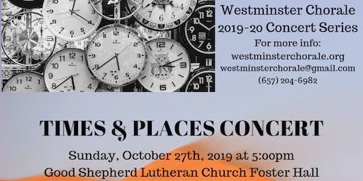 Times & Places Concert