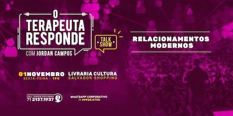 O Terapeuta Responde - Relacionamentos Modernos - 01/11 ingressos