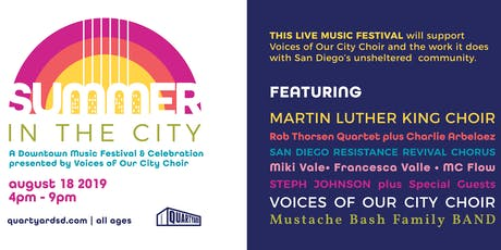 Summer in the City - A Downtown Music Festival & Celebration tickets