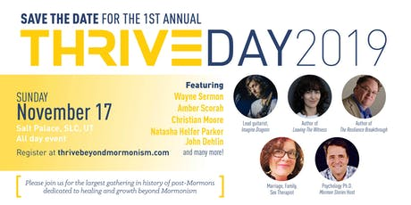 Thrive - Healing, Growth and Community Beyond Mormonism tickets