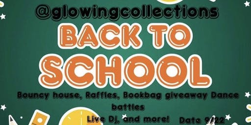 Back to School Pop Up Edition Fundraiser