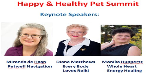 Happy and Healthy Pet Summit