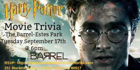Harry Potter Movies Trivia at The Barrel Estes Park tickets