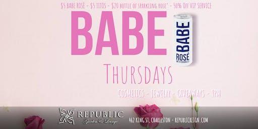 Babe Thursdays