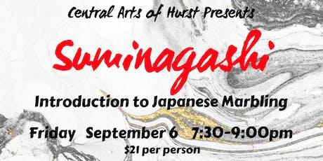 Suminagashi tickets
