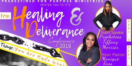 Healing and Deliverance Conference 2019 tickets