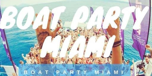 Miami Booze Cruise Party Boat+ Unlimited Drinks