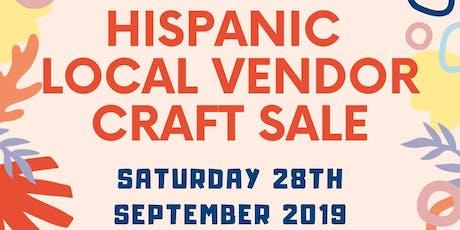 Hispanic Local vendor craft sale billets