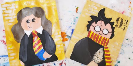 8/31 $22 Harry or Hermione @ Paint Like ME!  tickets