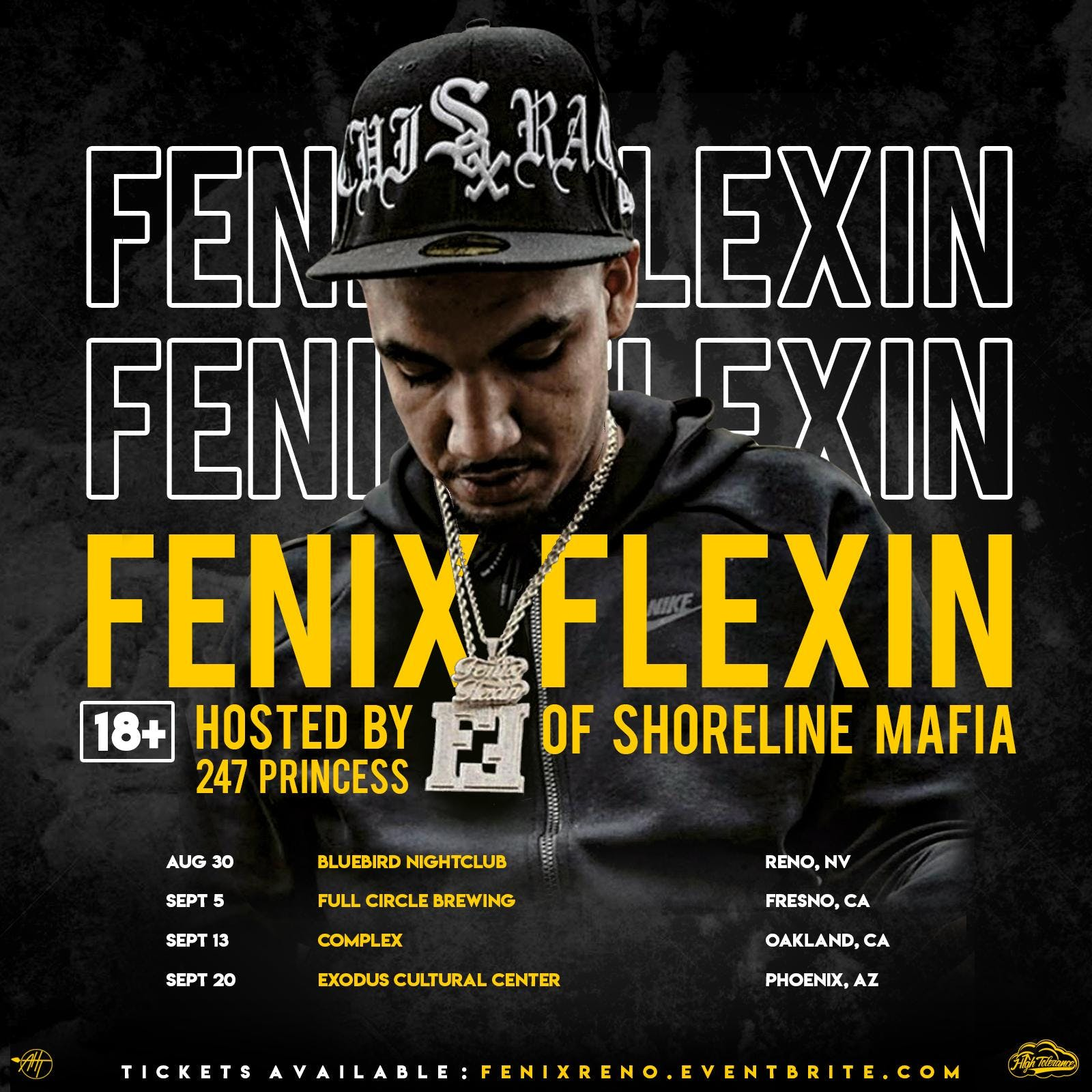 Fenix Flexin of Shoreline Mafia Live in Phoenix!