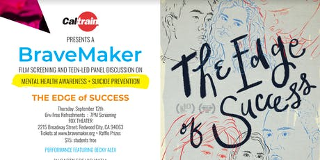 BraveMaker Film Screening + Panel on Mental health + Suicide Prevention  tickets