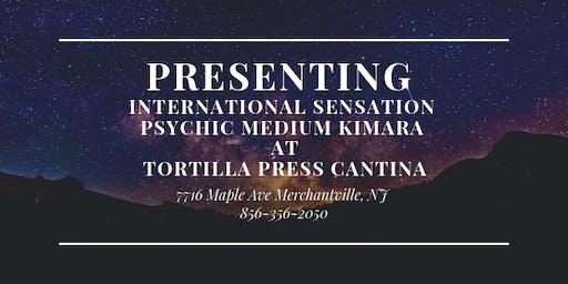 International Sensation Psychic Medium  Kimara at Tortilla Press Cantina