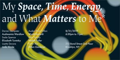 Space, Time, Energy, and Matter Pop-Up Show