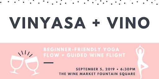 Vinyasa + Vino