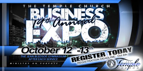 19th Annual Temple Business Expo & Seminar tickets