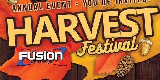 Annual Harvest Festival at Fusion Church on Halloween