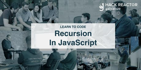 Learn to Code NYC: Recursion in JavaScript tickets