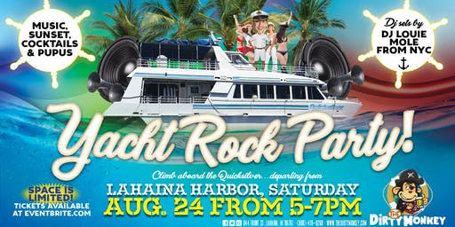 Dirty Monkey's Sunset Yacht Rock Party with DJ Louie Mole from NYC