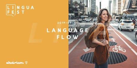 Feketeöves tudásnövelés - avagy használd az agyad! (LinguaFest Language Flow) tickets