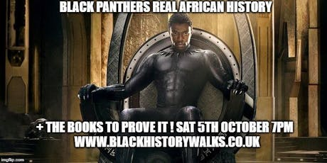 Black Panther's real African history + the books to prove it tickets