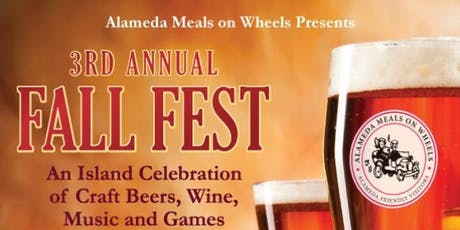 Fall Fest 2019 - Alameda Meals on Wheels tickets