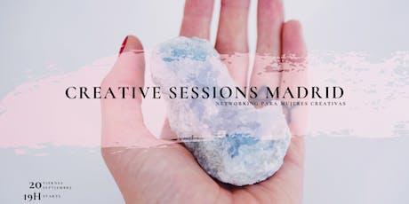 Creative Sessions Madrid - Networking para mujeres creativas entradas