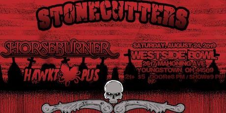 Hawktopus, Stonecutters, Horseburner, Fractal Cadence tickets