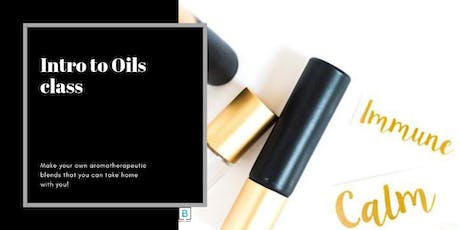 Intro to Oils class tickets