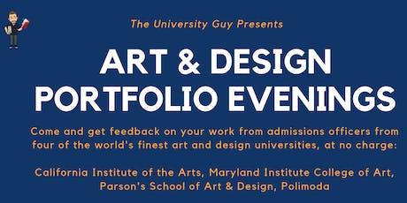 Art & Design Portfolio Review Evening: Midlands tickets