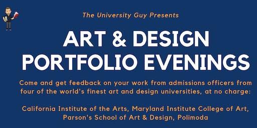 Art & Design Portfolio Review Evening: Midlands