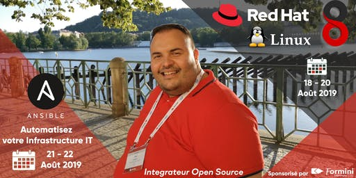 Red Hat Linux 8 Bootcamp & Ansible Automation - by integrateur open source : Aout 2019