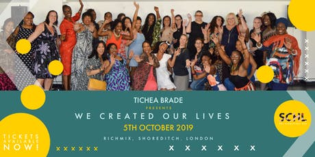 We Created Our Lives Day Retreat. Empowering Men & Women to create a life you love. tickets