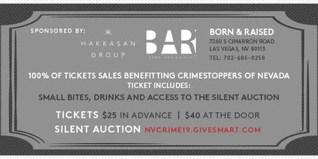 Crime Stoppers 3rd Annual Silent Auction tickets