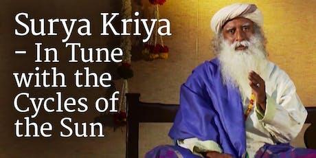 Isha Hatha Yoga - Surya Kriya tickets