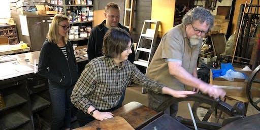 Workshop V: Die Cutting and Beer Coasters