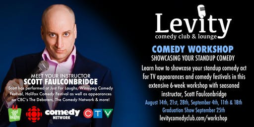 Stand-up Comedy Workshop at Levity Comedy Club