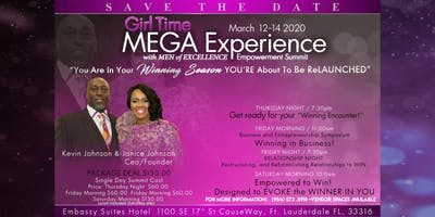 The Girl Time Experience with Men of Excellence Empowerment Summit