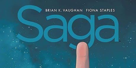 Brian K. Vaughan w/ Wyatt Cenac (Saga:Compendium One) at ASCQ DTLA. tickets