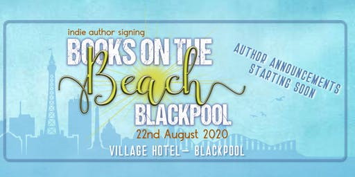 Books on the Beach Signing - Blackpool 2020