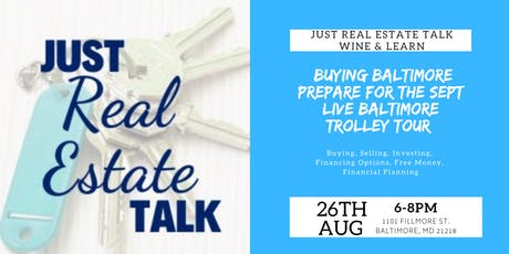 Just Real Estate Talk Wine & Learn tickets