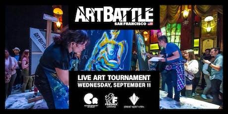 Art Battle San Francisco - September 11, 2019 tickets