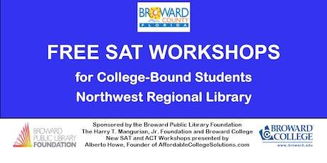 Free SAT Workshops @ Northwest Regional Library tickets