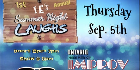 IE's Summer Night Laughs tickets