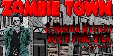 Zombie Murder Mystery! 10/5 tickets