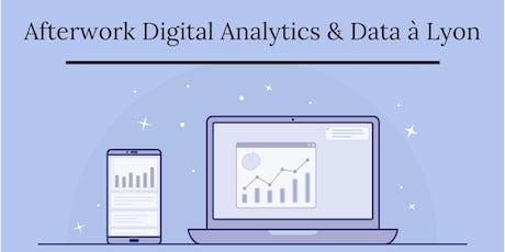 Afterwork Digital Analytics & Data + Mini-DataCamp à Lyon - 19/09/2019 billets