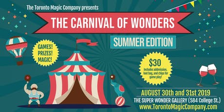 The Carnival of Wonders - Summer Edition tickets